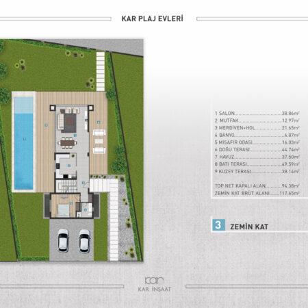 kar plaj evleri_VİLLA-3-12
